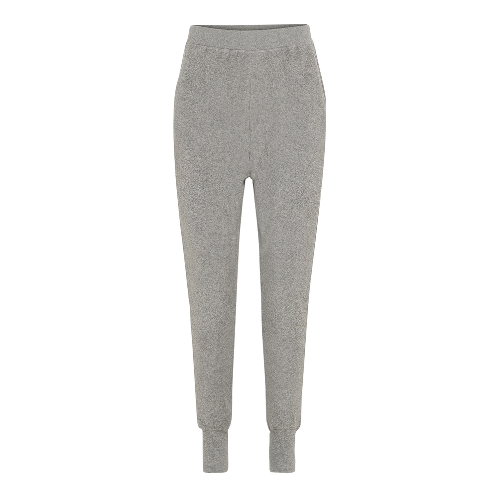 Angel Pants Terry-Grey Melange-S