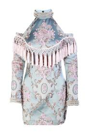 Tassels Embellished Mini Dress -Pre Owned Condition Excellent