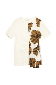 T-shirt With Knot And Print