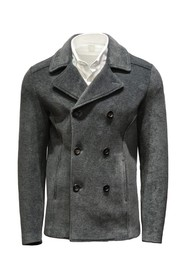 PEACOAT PANA NEOPRENO - Tallas Outwear: 48,Colores: Gris