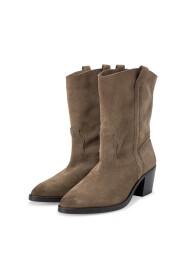 Suede Cowboy Støvler
