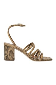 Carla 70 Sandals in Printed Leather