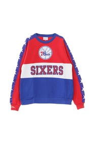 FELPA GIROCOLLO NBA LEADING SCORER FLEECE CREW PHI76E