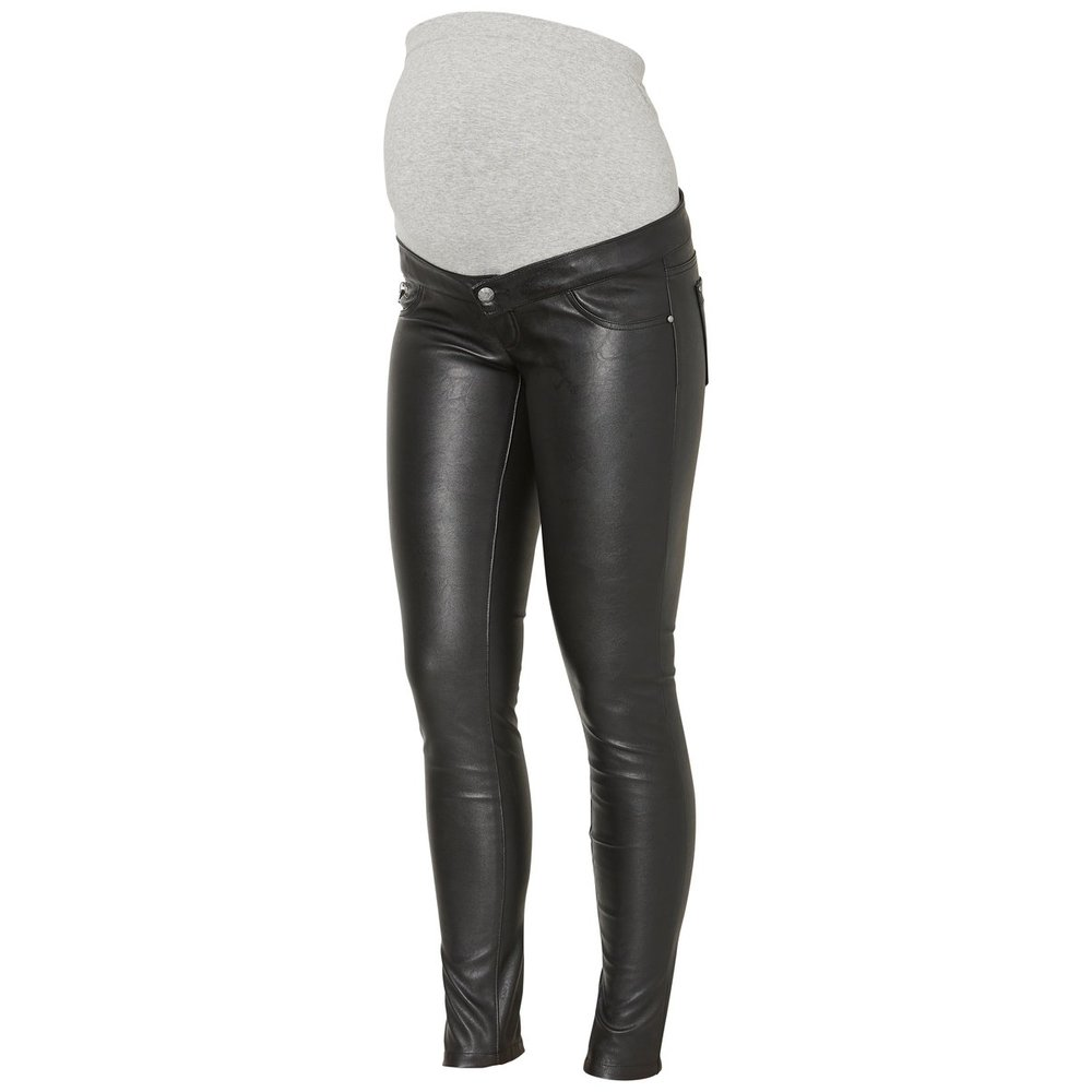 Maternity pants Leather look