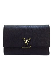 Pre-owned Taurillon Capucines Wallet Leather Calf