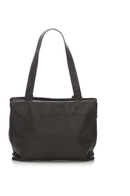 CC Lambskin Leather Tote Bag