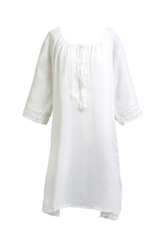 Tunika plażowa biała