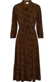 Cocoa Wrap Dress Kjole