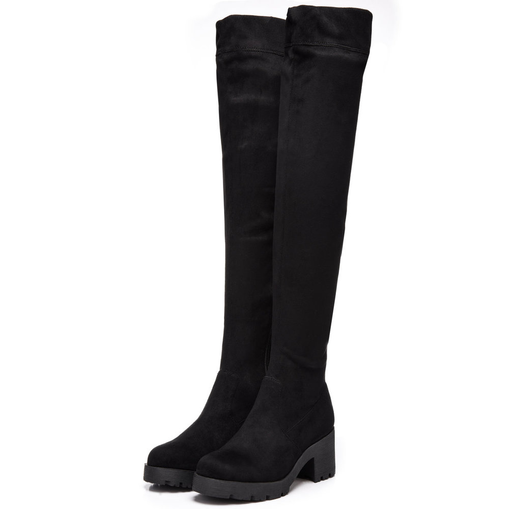 over-the-knee boots ANA Suede