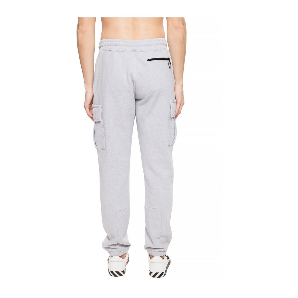 Off White GREY Sweatpants with logo Off White