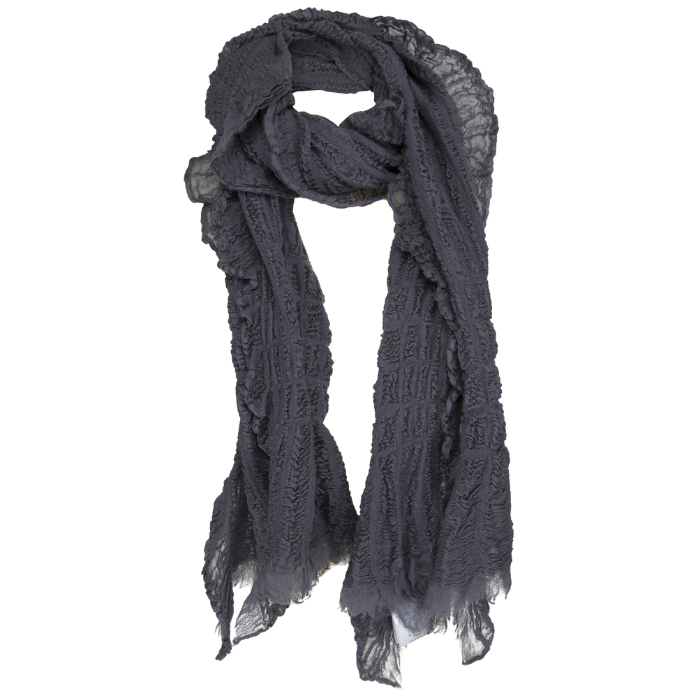 NÜ Denmark nu denmark uld tørklæde grå (Grå)
