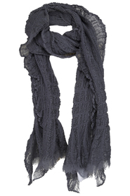 nu denmark uld tørklæde grå