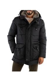Field Jacket med pelskrave