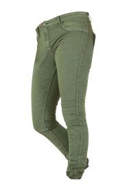 Olivengrønn Place du Jour Jeans