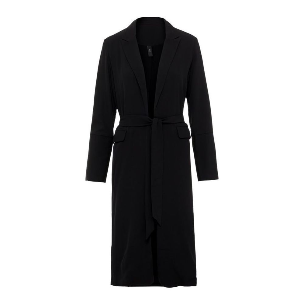 Y.a.s Sort Lang Knyte Trenchcoat