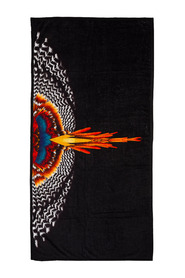beach towel  Grizzly Wings