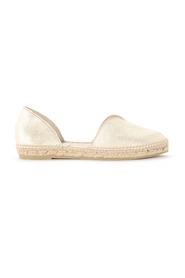 Los Angeles espadrilles slip on in laminated leather