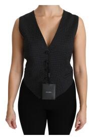 Waistcoat Vest Blouse Top