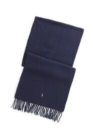 Frynsede uld tørklæde Tilbehør