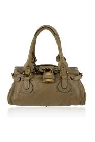 Leather Paddington Bag Tote