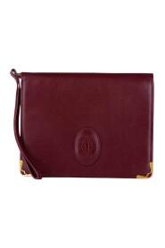 Must De Clutch Bag Leather Calf
