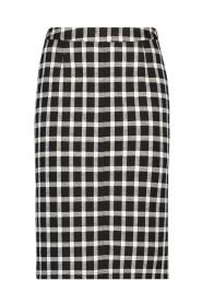 Raff check skirt