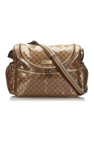 Crystal Diaper Bag Fabric Coated Canvas