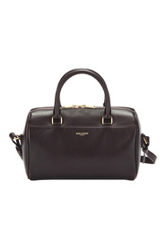 Classic Baby Duffle Leather Satchel
