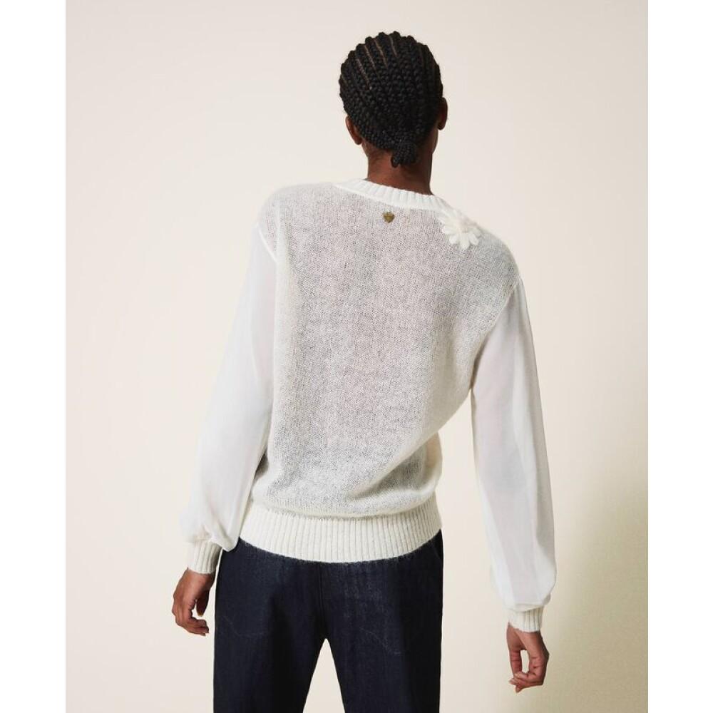 Twinset Beige Sweater Twinset