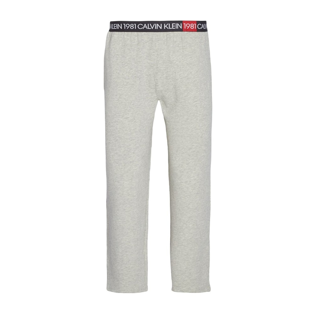 Calvin Klein CALVIN KLEIN 000NM1706E SLEEP PANT PAJAMAS Men GREY HEATHER