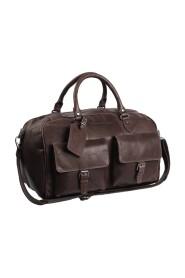 Wesley Weekend Bag I Skinn Brun