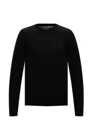 Sweter z wyszytym logo