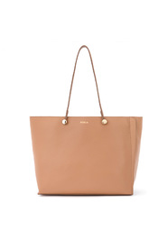 Eden M tumbled leather shoulder bag