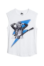David Bowie Lightning Sleeveless Top