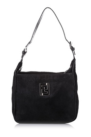 Shoulder Bag Natural Material Pony Hair