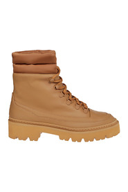 PUFFY TOP HIKING BOOTS