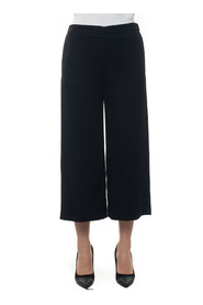 Soft trousers in cady