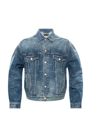 Denim shirt met logo