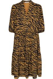 Cream Zebra Dress