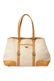 Leather Frame Tote