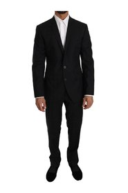 Wool Silk 2 Piece Slim Fit Suit