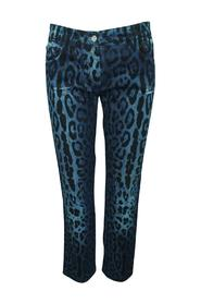 Leopard Print  Jeans -Pre Owned Condition Very Good