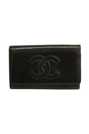 Pre-owned Leather Key Case