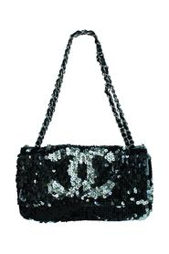 Cc Limited Edition Summer Night Sequins Shoulder Bag -Pre Owned Condition Very Good