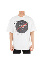 men's short sleeve t-shirt crew neckline jumper nasa