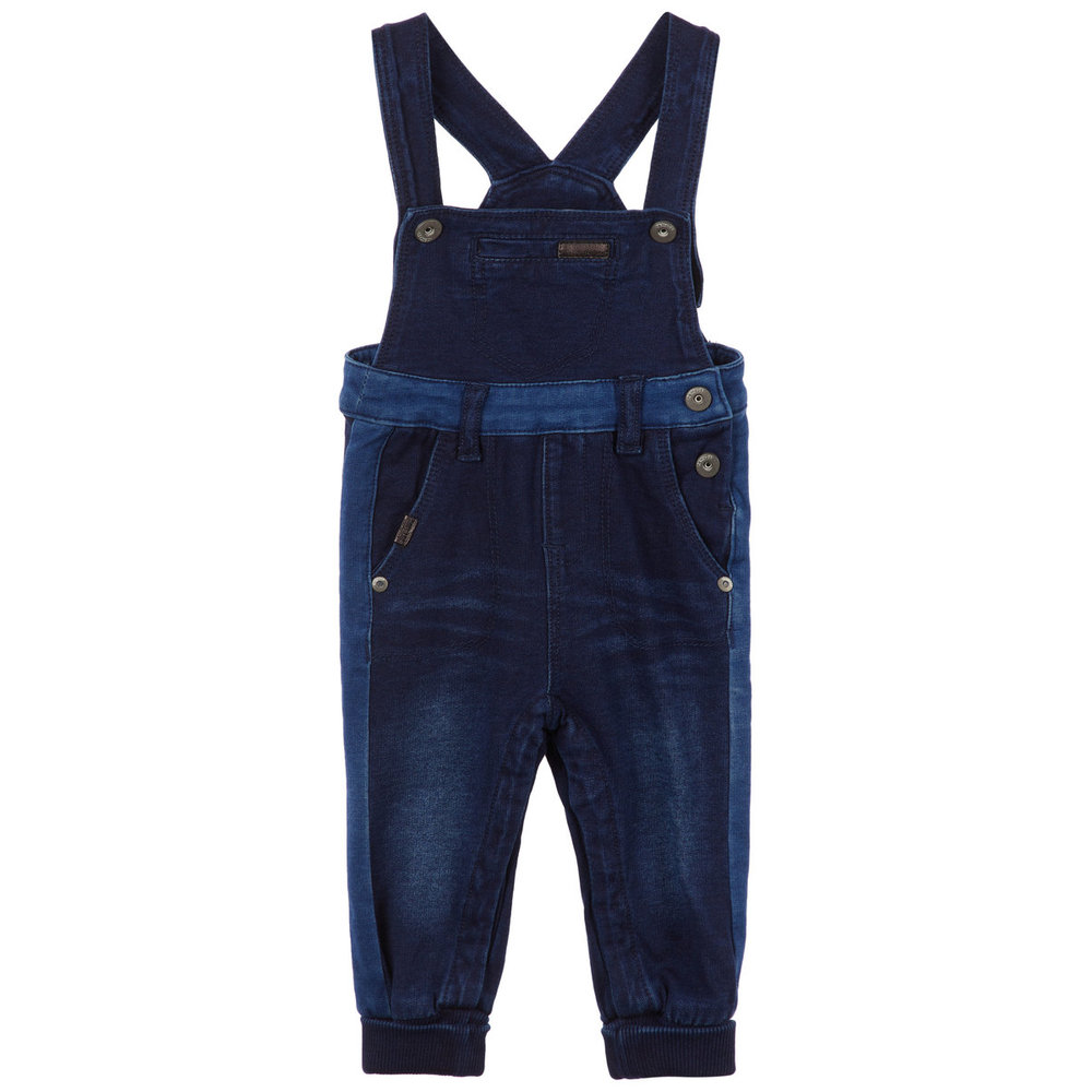 Overalls soft sweat denim