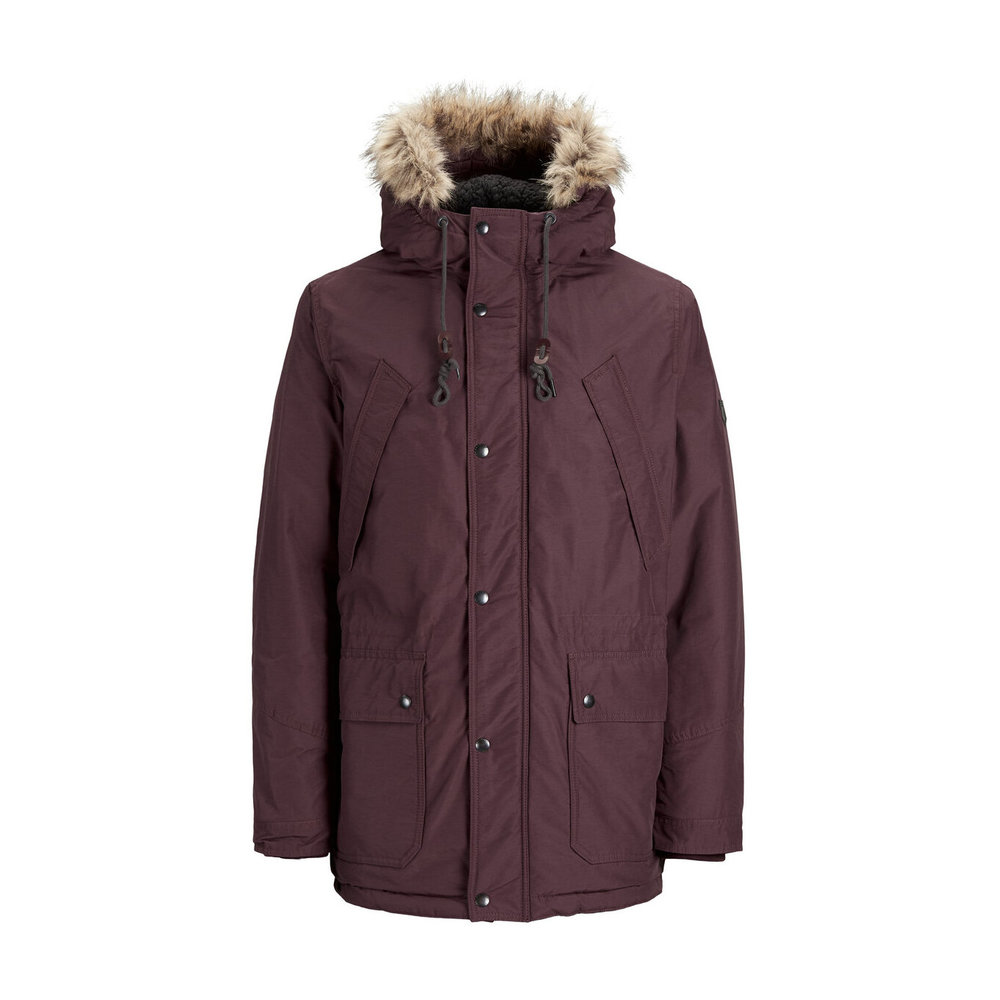 Parka coat hooded