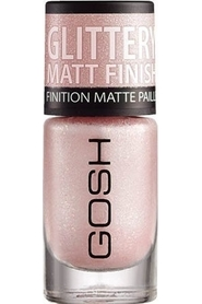 2 pak. GOSH Lacquer Frosted 06 Frosted Soft Pink