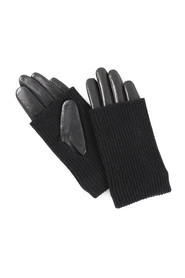Helly women's glove in knitwear and fur