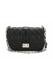 Pre-owned Miss Dior Cannage Flap Bag  in lambskin leather